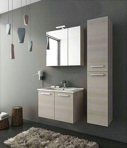 HARLEM H7, Hängender Waschtischunterschrank mit Türen