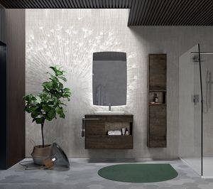 Lume comp.03, Moderne Stil Badezimmer Zusammensetzung