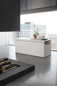 ORIGAMI SP103, Bank mit Gehäuse ideal für den Wohnbereich