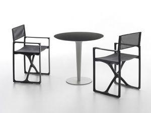 Pile Up, Eleganter Tisch im Freien für Restaurants und Bars