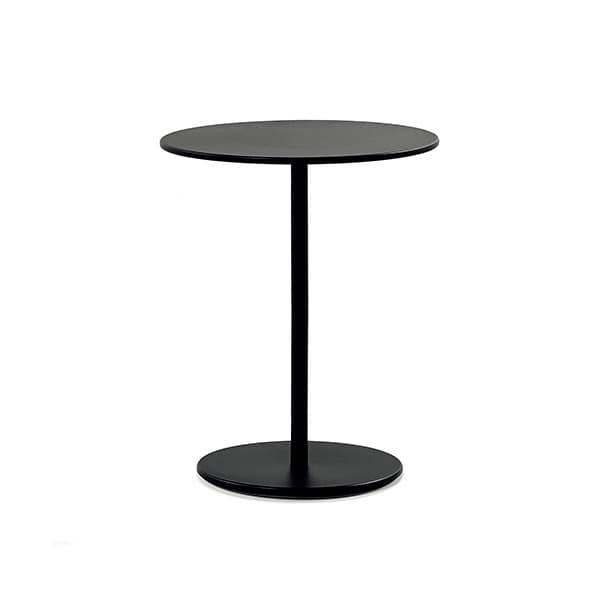 Runder Tisch Metall.Runder Tisch Aus Lackiertem Metall Für Bars Und Restaurants