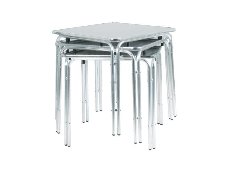 033, Metall-Tisch für Bars und Eisdielen