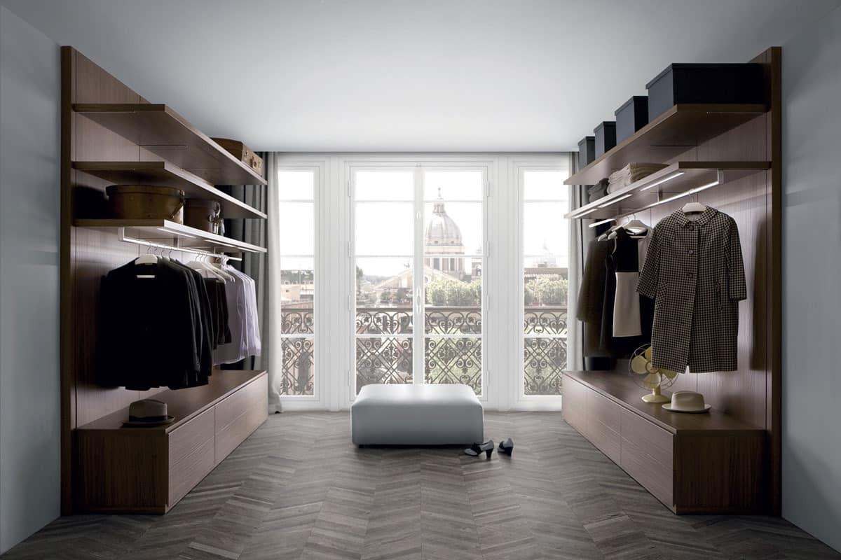 Moderne begehbare Kleiderschränke, Kleiderschrank | IDFdesign