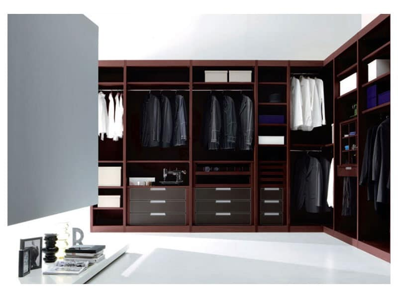 kleiderschrank offenes system schlafzimmer schr nke und m bel das bettenstudio teak. Black Bedroom Furniture Sets. Home Design Ideas