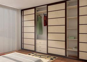 Begehbarer Kleiderschrank, Begehbarer Kleiderschrank im japanischen Stil