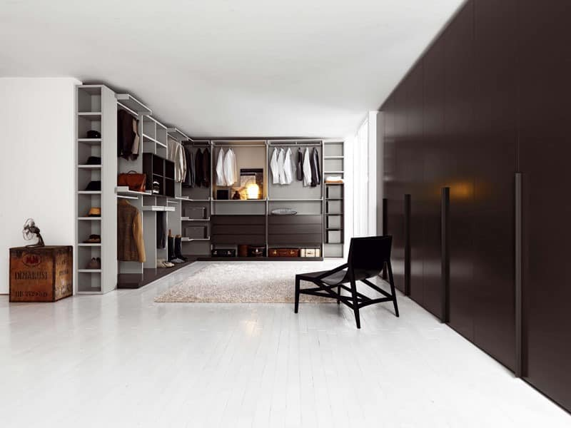 begehbarer kleiderschrank wing 1 interne ausstattung f r. Black Bedroom Furniture Sets. Home Design Ideas