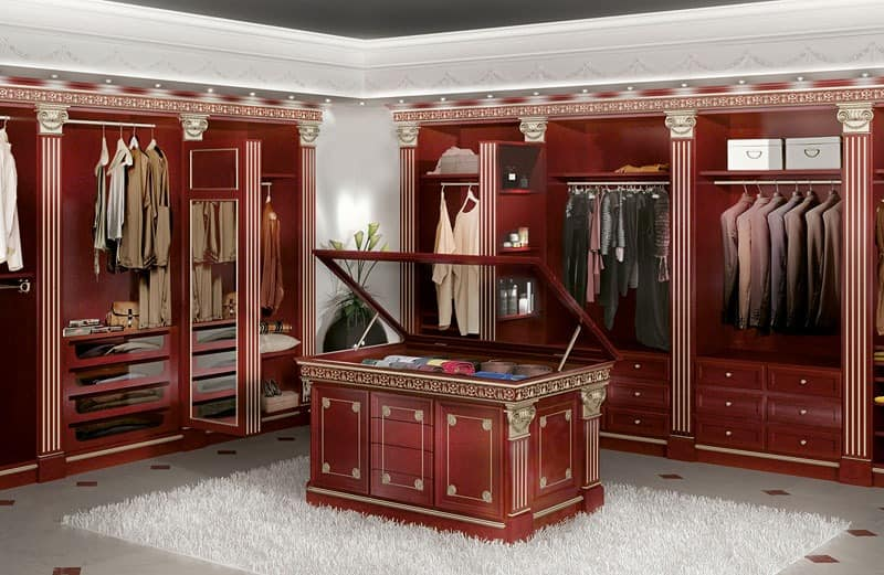 modular begehbarer kleiderschrank f r luxushotel und zu hause idfdesign. Black Bedroom Furniture Sets. Home Design Ideas