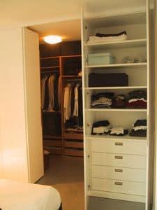Begehbarer Schrank für Schlafzimmer und Flur, Benutzerdefinierte Schrank für Flur und Schlafzimmer