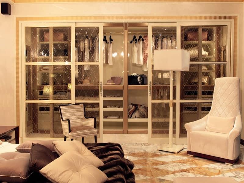 dolce vita begehbarer kleiderschrank begehbarer schrank. Black Bedroom Furniture Sets. Home Design Ideas
