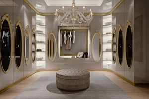 Hotel de Ville Begehbarer Kleiderschrank, Maßgefertigter begehbarer Kleiderschrank