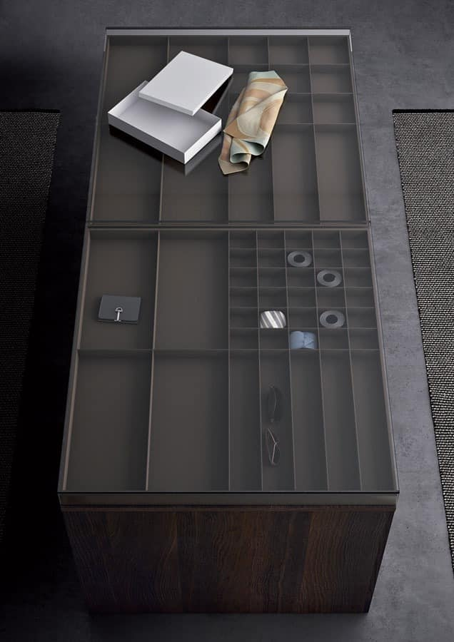 kabinett f r begehbare schr nke mit schubladen und regalen. Black Bedroom Furniture Sets. Home Design Ideas