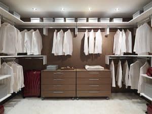 Kabine halten 01 Up, Modular und praktischen begehbaren Kleiderschrank, für Wohn-Villen
