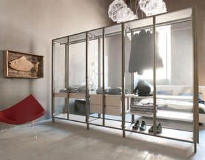 sipario closet kleidung begehbarer kleiderschrank zimmer idfdesign. Black Bedroom Furniture Sets. Home Design Ideas