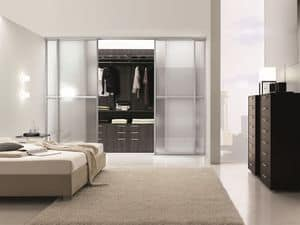 Ta Tac, Begehbarer Kleiderschrank ideal für moderne Schlafzimmer
