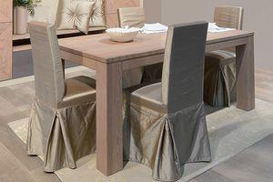 Gaia 121, Stuhl gekleidet für Esszimmer