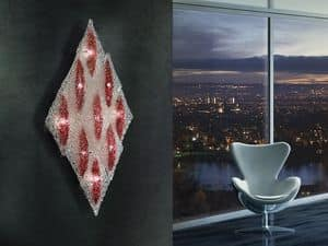 Alaska applique, Rautenförmigen Wanddecke, Metallrahmen