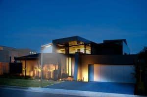 Professionelle Laternen mit Sonnenenergie – LS024LED, Solarwand lampfor Freien, LED-Lampe für den Garten