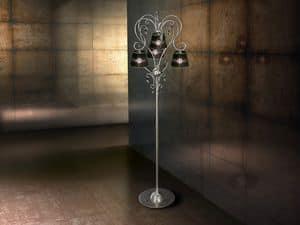Venezia floor lamp, Eisen moderne Stehlampe, für reiche Wohnzimmer