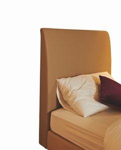 Scarlett Kopfteil Einzelbett gepolstert, Gepolstertes Kopfteil für Hotel Einzelbett