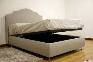 Layka, Abnehmbares Bett im Shabby Chic-Stil