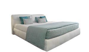 Vico, Modernes Bett mit abnehmbarer Polsterung