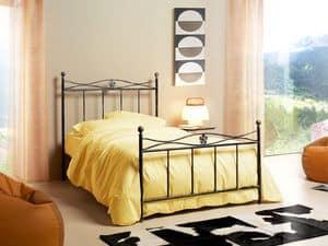 Albatros 120, Einzelbett im Jugendstil, Verschmelzung floralen Design