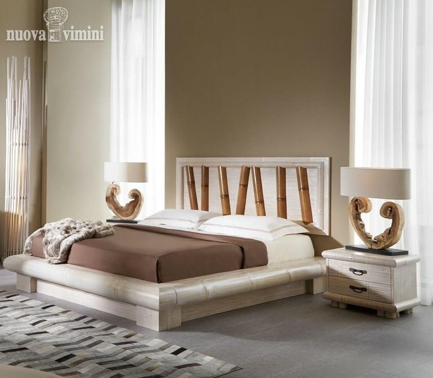 Ethnisches Bett mit Stauraum   IDFdesign