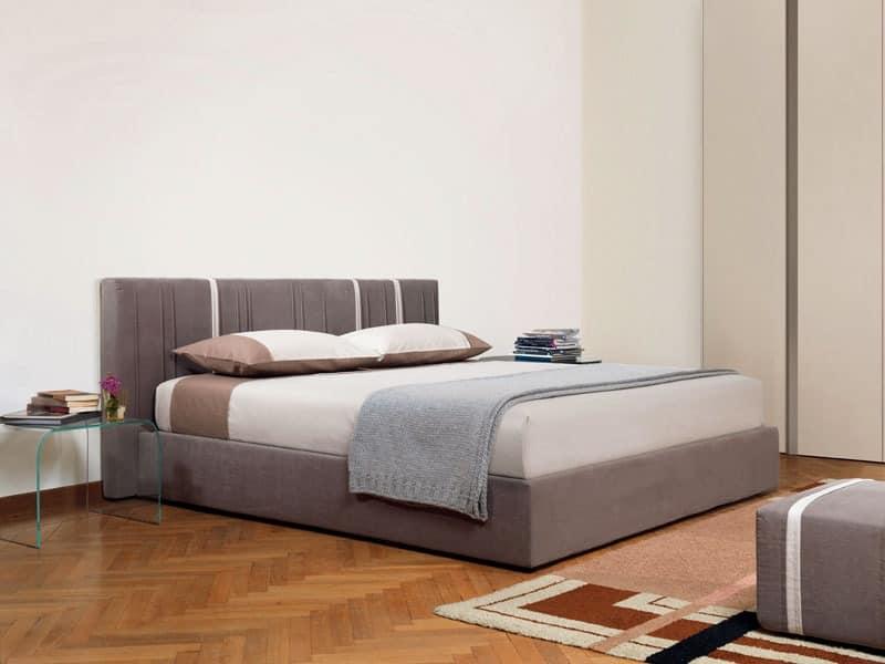 bett mit subnet container gepolsterter sommier idfdesign. Black Bedroom Furniture Sets. Home Design Ideas
