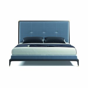 Delano Bett, Bett mit hoch gepolstertem Kopfteil