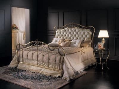 doppelbett klassische bett messing bett fiorella 1293 c. Black Bedroom Furniture Sets. Home Design Ideas