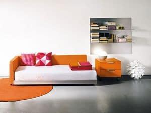FLIPPER single, Schlafsofa in modernem Stil, für den Wohnbereich