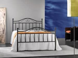Giusy 120, Doppelmetallbett, für Classic-Zimmer