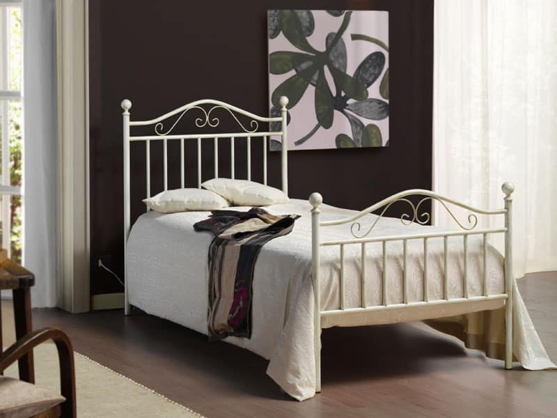 Giusy, Schmiedeeisernes Bett, antiqued manuell beendet