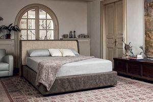 MARIN, Doppelbett für die Mitte des Raumes