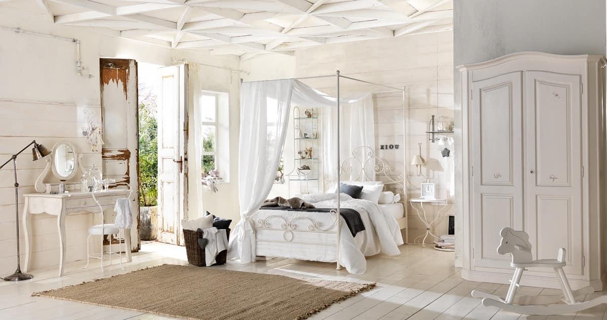 einzelbett in voller eisen handgezeichneten und poliert idfdesign. Black Bedroom Furniture Sets. Home Design Ideas
