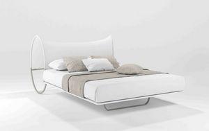 Onda Due, Modernes Doppelbett in röhrenförmigen, dreidimensionalen Kopf