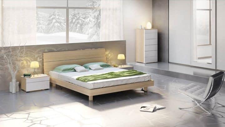 Die Mobel Fur Die Schlafzimmer Holzbett Mit Modernem Design Idfdesign