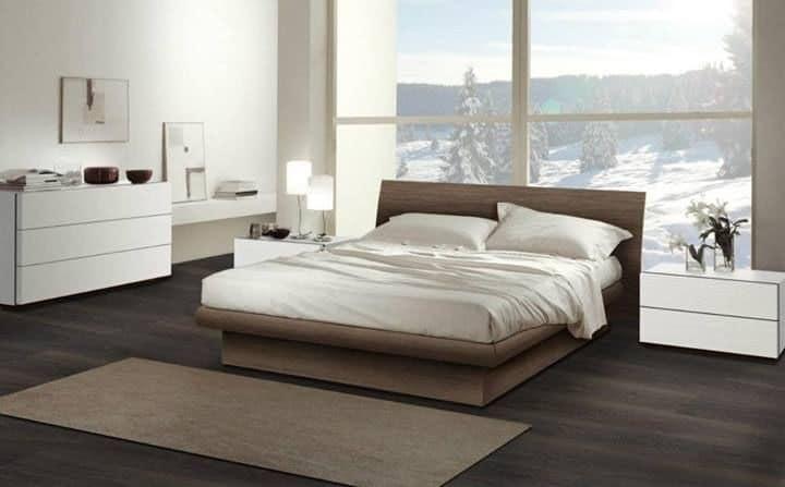 modernes schlafzimmer design, die möbel für die schlafzimmer, holzbett mit modernem design | idfdesign, Design ideen