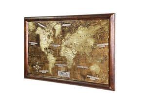 Art. AA465, Weltkarte eingraviert