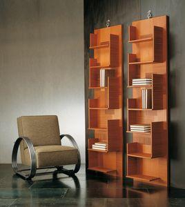 4306 Harlem, Wandbücherregal aus Holz