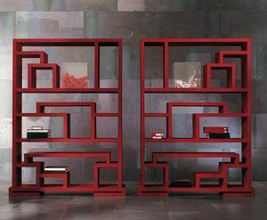 4402 Labirint, Bücherregal aus Holz mit einem modernen Design