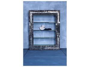 modernes b cherregal beidseitiger regal system. Black Bedroom Furniture Sets. Home Design Ideas