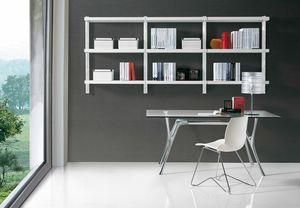 Big wall unit, Moderne Bibliothek für das Büro und zu Hause