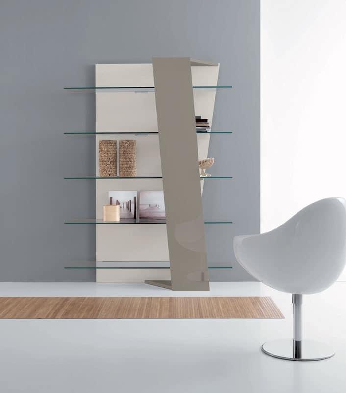b cherregale in laminat glasb den lesesaal idfdesign. Black Bedroom Furniture Sets. Home Design Ideas
