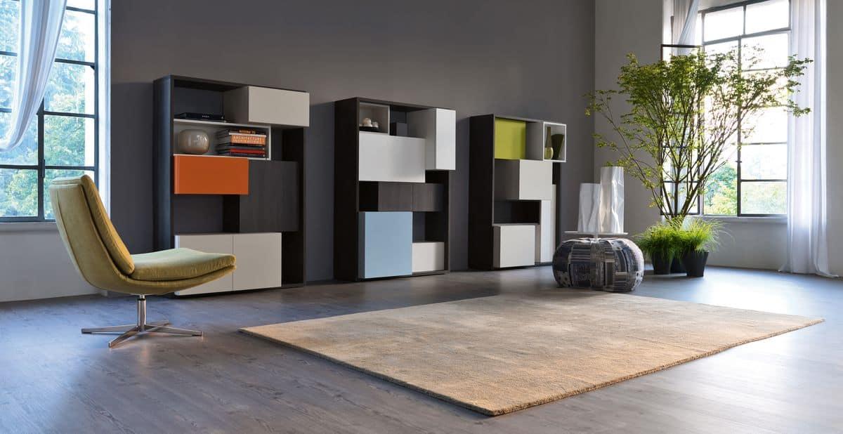 Lagerung Bücherregale modern | IDFdesign