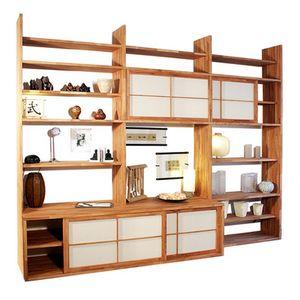 Haru-A, Custom Bücherregal mit TV-Ständer