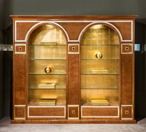 LB34 2 archi, Klassisches Bücherregal zu einem reduzierten Preis