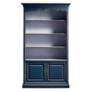 Lorena FA.0100, Klassisches Bücherregal mit Regalen und Türen
