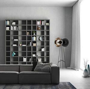 Modular – Mood 1, Modulare Bücherregale für Wohnzimmer