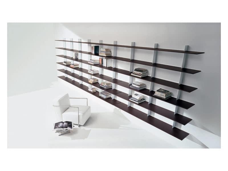 pin wohnzimmer b cherregale modern innendesign interieur. Black Bedroom Furniture Sets. Home Design Ideas